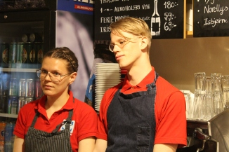 The people of Svalbard: Viktor, barista (Maureen)